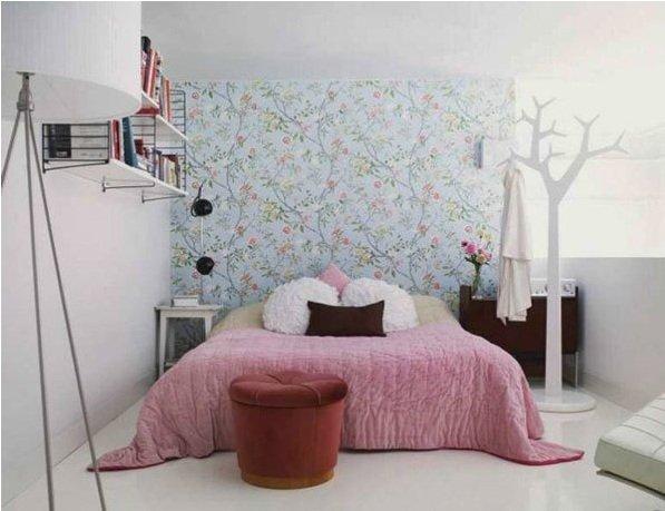 Фотография: Спальня в стиле Скандинавский, Малогабаритная квартира, Квартира, Индустрия, События – фото на INMYROOM