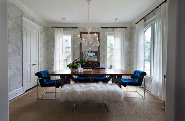 Фотография: Кухня и столовая в стиле Классический, Современный, Эклектика, Декор интерьера, Декор дома, Ковер – фото на INMYROOM