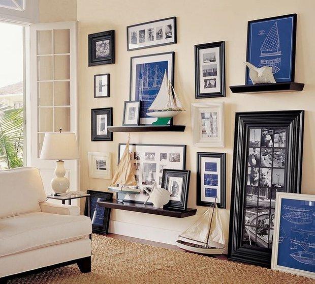 Фотография: Гостиная в стиле Скандинавский, Современный, Восточный, Декор интерьера, Декор дома, Стены, Картины, Постеры – фото на INMYROOM