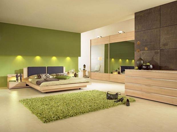 Фотография: Спальня в стиле Классический, Декор интерьера, Квартира, Дом, Декор, Зеленый – фото на INMYROOM