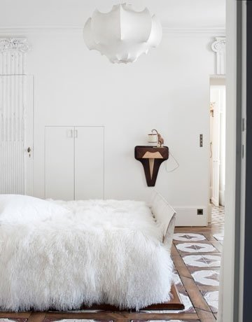Фотография: Спальня в стиле Скандинавский, Декор интерьера, Декор дома, Плитка – фото на INMYROOM
