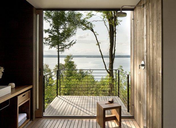 Фотография: Балкон в стиле Лофт, Дом, Архитектура, Ландшафт, Минимализм, Эко – фото на INMYROOM
