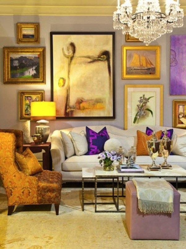 Фотография: Гостиная в стиле Прованс и Кантри, Декор интерьера, Декор дома, Стены, Картины, Постеры – фото на INMYROOM