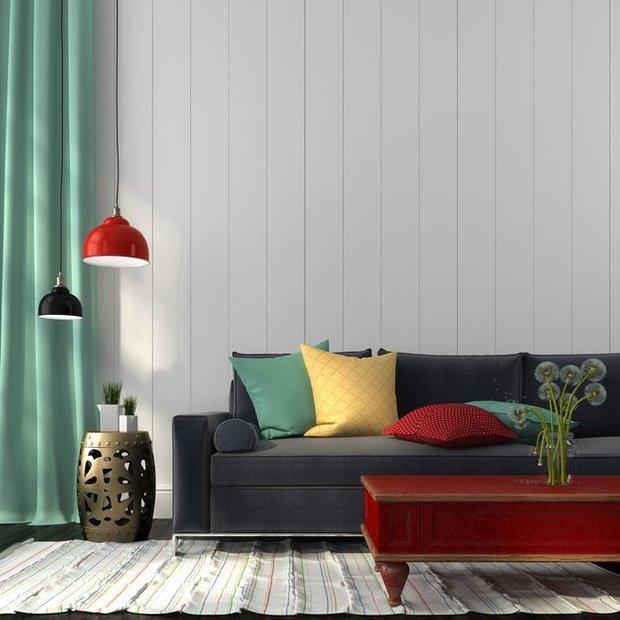 Фотография: Гостиная в стиле Лофт, Декор интерьера, Текстиль, Подушки – фото на INMYROOM