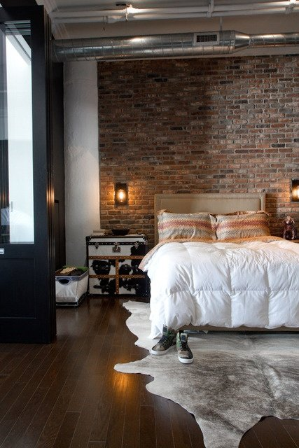 Фотография: Спальня в стиле Лофт, Скандинавский, Декор интерьера, Декор дома, Минимализм – фото на InMyRoom.ru