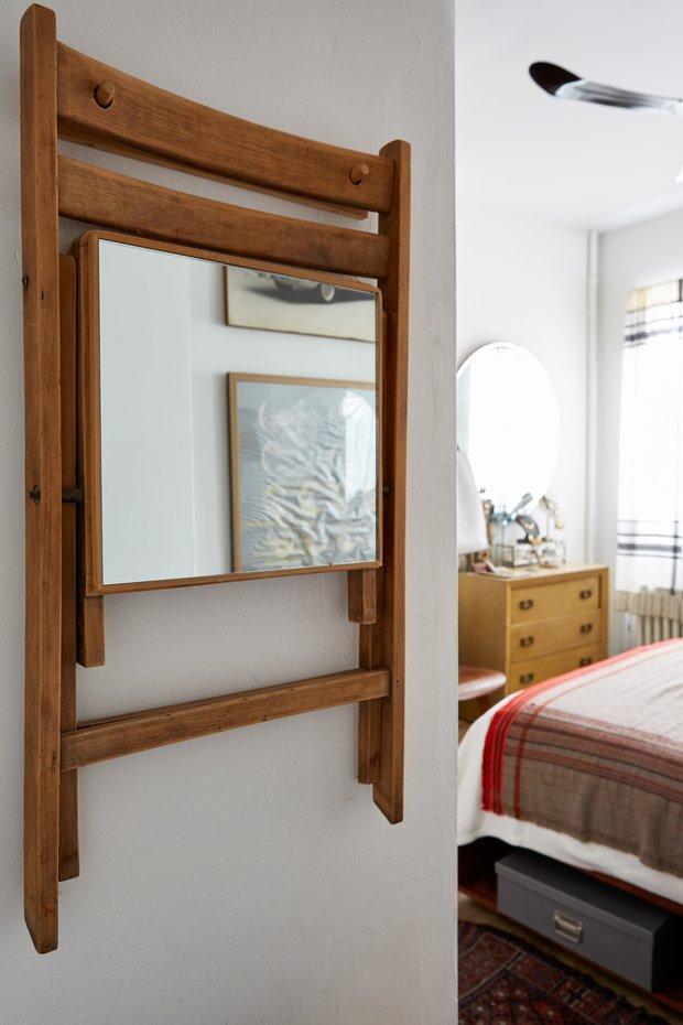 Фотография: Спальня в стиле Скандинавский, Малогабаритная квартира, Квартира, США, Советы, Нью-Йорк – фото на INMYROOM