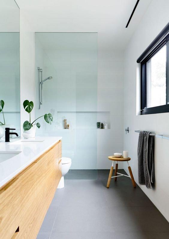 Фотография: Ванная в стиле Минимализм, Кухня и столовая, Советы, Ремонт на практике – фото на INMYROOM