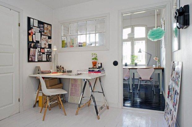 Фотография: Кухня и столовая в стиле Скандинавский, Прованс и Кантри, Малогабаритная квартира, Квартира, Дома и квартиры, Стокгольм – фото на INMYROOM