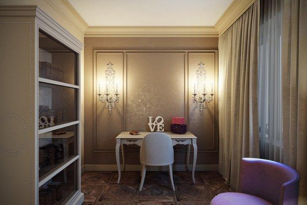 Фотография: Спальня в стиле Классический, Квартира, Интерьер комнат, Декор, Проект недели, Неоклассика – фото на INMYROOM