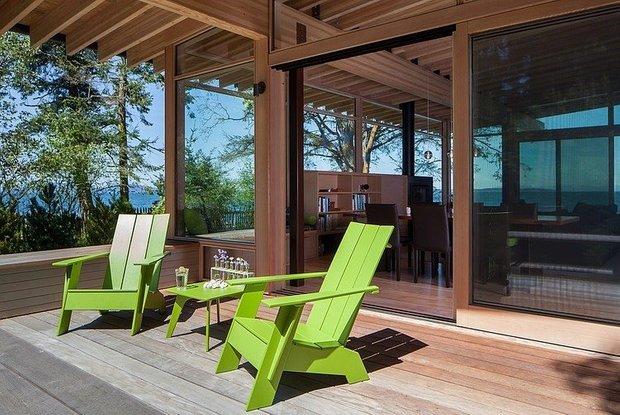 Фотография: Ландшафт в стиле Современный, Дом, США, Дома и квартиры, Минимализм – фото на INMYROOM