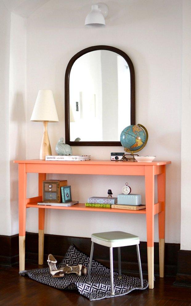 Фотография:  в стиле , Прихожая, DIY, Мебель и свет – фото на INMYROOM