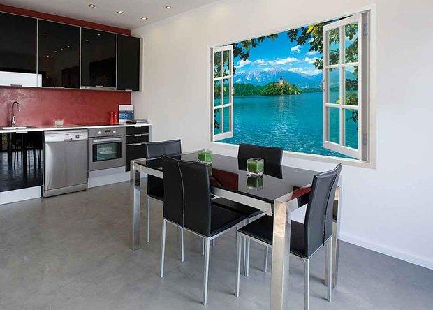 Фотография: Кухня и столовая в стиле Хай-тек, Декор интерьера, DIY, Обои – фото на INMYROOM