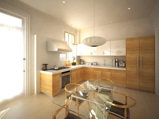 Фотография: Кухня и столовая в стиле Лофт, Современный, Интерьер комнат – фото на INMYROOM