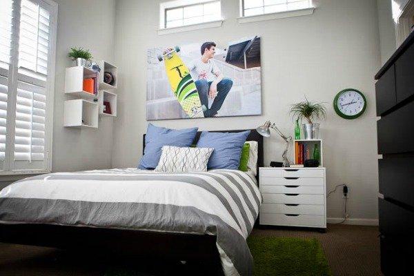 Фотография: Спальня в стиле Современный, Детская, Интерьер комнат – фото на InMyRoom.ru