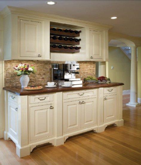 Фотография: Кухня и столовая в стиле Прованс и Кантри, Декор интерьера, DIY, Стены, Кухонный фартук – фото на INMYROOM