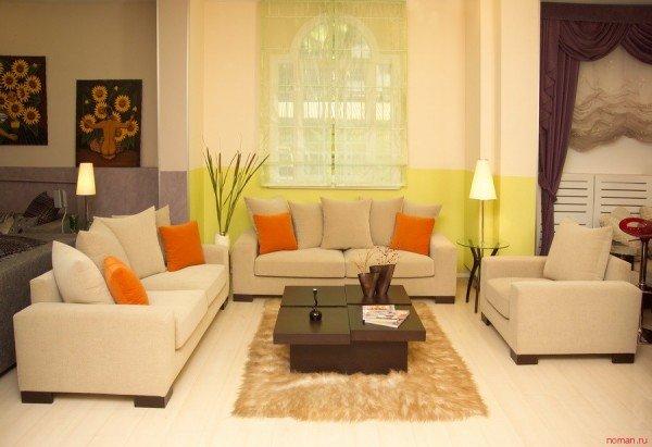 Фотография: Гостиная в стиле Классический, Современный, Декор интерьера, Текстиль, Подушки – фото на INMYROOM