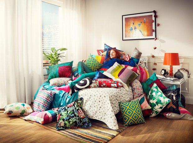 Фотография: Спальня в стиле Современный, Эклектика, Декор интерьера, Мебель и свет, Декор дома – фото на INMYROOM