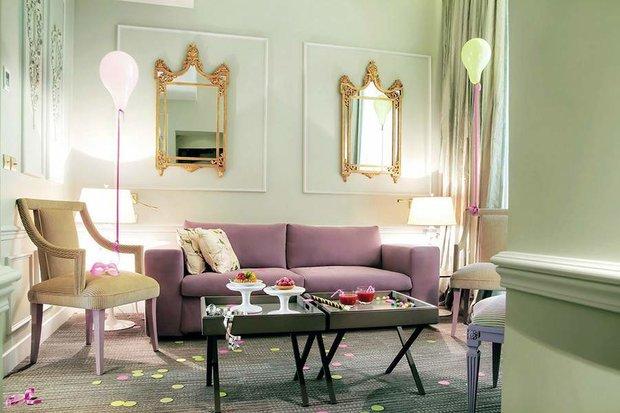 Фотография: Гостиная в стиле , Спальня, Франция, Дома и квартиры, Городские места, Отель – фото на INMYROOM