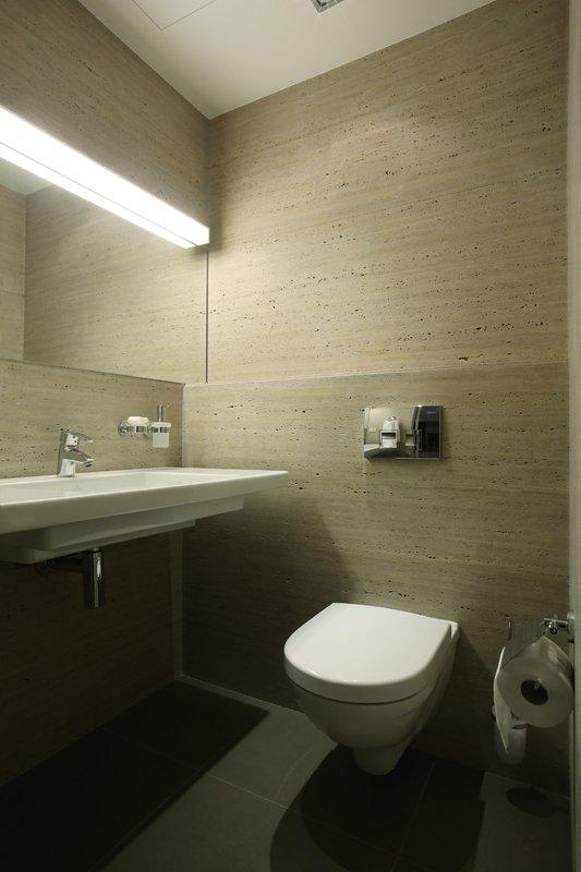 Фотография: Ванная в стиле Современный, Квартира, Дома и квартиры, Проект недели, Перепланировка – фото на INMYROOM