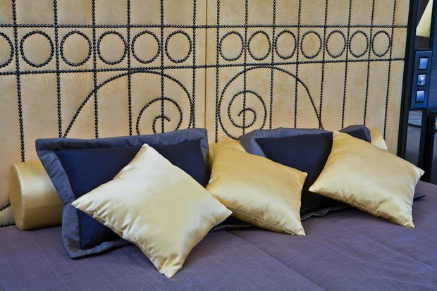 Фотография: Спальня в стиле Современный, Восточный, Эклектика, Интерьер комнат, Проект недели – фото на INMYROOM