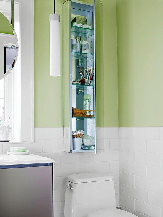 Фотография: Ванная в стиле Современный, Квартира, Прочее, Советы, Системы хранения, Порядок, Организация пространства, Хранение мелочей, Хозяйке на заметку – фото на INMYROOM