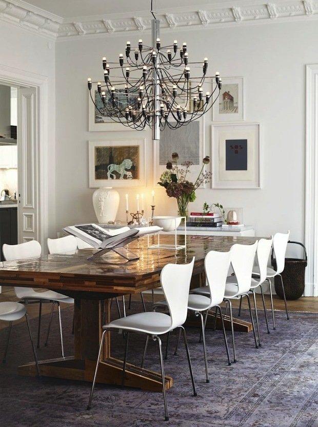 Фотография: Кухня и столовая в стиле Эклектика, Декор интерьера, ковер в интерьере – фото на INMYROOM