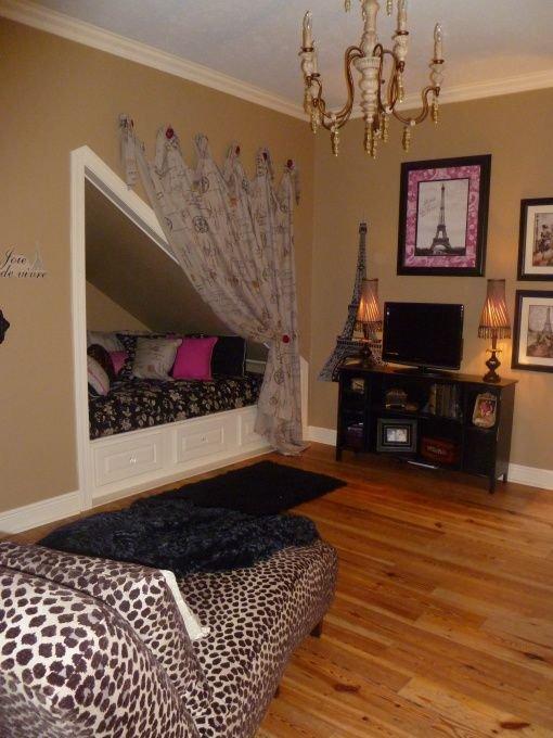 Фотография: Спальня в стиле Прованс и Кантри, Советы, Бежевый, Серый, Мебель-трансформер, кровать-трансформер, диван-кровать – фото на INMYROOM