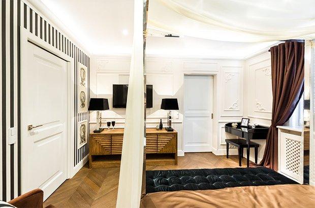 Фотография: Спальня в стиле Классический, Современный, Декор интерьера, Интерьер комнат, Проект недели – фото на INMYROOM