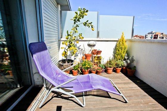 Фотография: Балкон, Терраса в стиле Современный, Квартира, Цвет в интерьере, Дома и квартиры, Белый, Барселона – фото на InMyRoom.ru