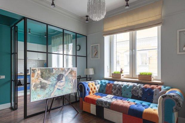 Фотография: Гостиная в стиле Современный, Декор интерьера, Квартира, Гид – фото на INMYROOM
