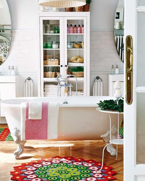Фотография: Ванная в стиле Скандинавский, Современный, Декор интерьера, DIY, Дом, Системы хранения – фото на INMYROOM
