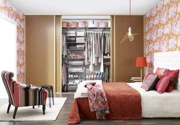 Фотография: Спальня в стиле Прованс и Кантри, Современный, Интерьер комнат – фото на INMYROOM