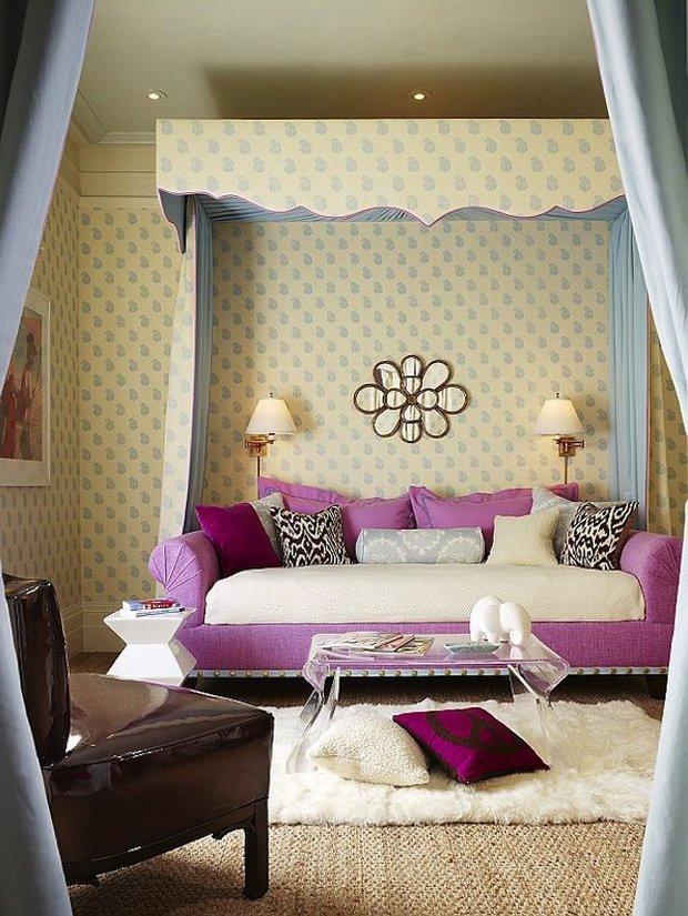 Фотография: Спальня в стиле Прованс и Кантри, Эклектика, Детская, Интерьер комнат, Декор – фото на INMYROOM