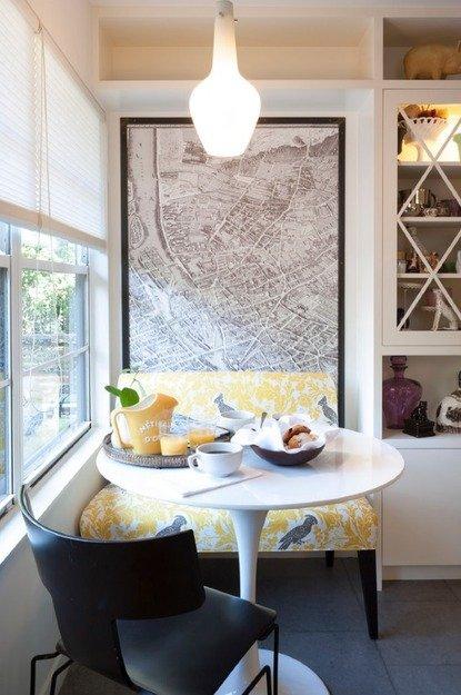 Фотография: Кухня и столовая в стиле Современный, Эклектика, Декор интерьера, Стиль жизни, Советы, Обеденная зона – фото на INMYROOM