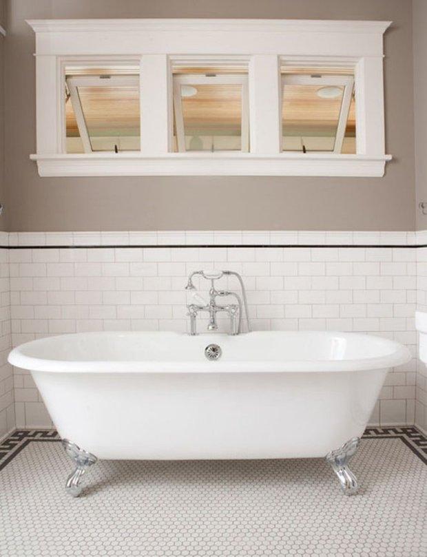 Фотография: Ванная в стиле Скандинавский, Эклектика, Кухня и столовая, Интерьер комнат – фото на INMYROOM