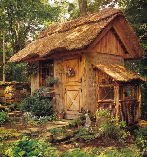 Фотография: Архитектура в стиле Прованс и Кантри, Малогабаритная квартира, Дом, Дома и квартиры, дизайн маленького дома, маленькие дома фото, маленькие красивые дома, проекты маленьких домов – фото на INMYROOM
