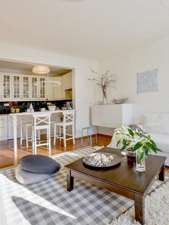Фотография: Кухня и столовая в стиле Скандинавский, Декор интерьера, Декор дома, Журнальный столик – фото на INMYROOM