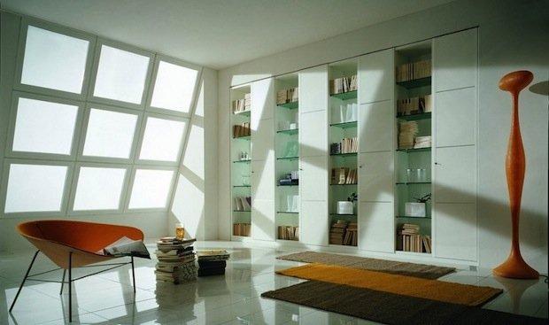 Фотография:  в стиле Современный, Декор интерьера, Декор дома, Библиотека – фото на INMYROOM