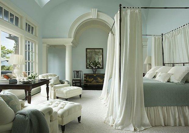 Фотография: Спальня в стиле Прованс и Кантри, Декор интерьера, Мебель и свет, Балдахин – фото на INMYROOM