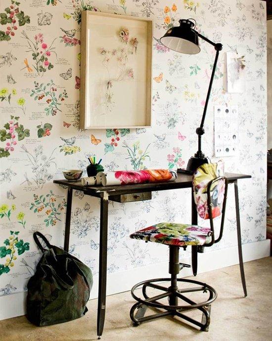 Фотография: Офис в стиле Прованс и Кантри, Современный, Текстиль, Стиль жизни, Советы, Цветы – фото на INMYROOM