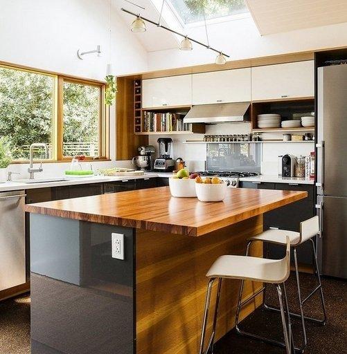 Фотография: Кабинет в стиле Скандинавский, Кухня и столовая, Дом и дача – фото на INMYROOM