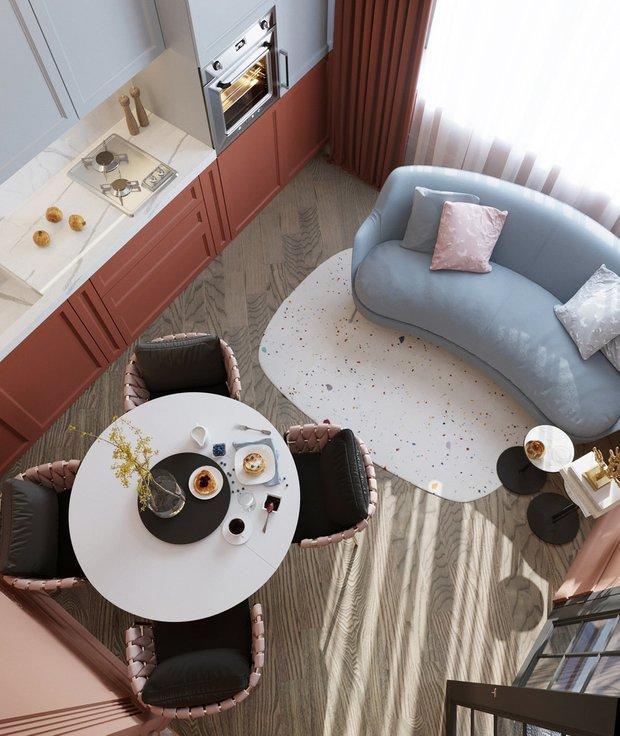 Фотография:  в стиле , Гид, квартира-студия, малогабаритка, до 40 метров, менее 30 квадратов – фото на INMYROOM