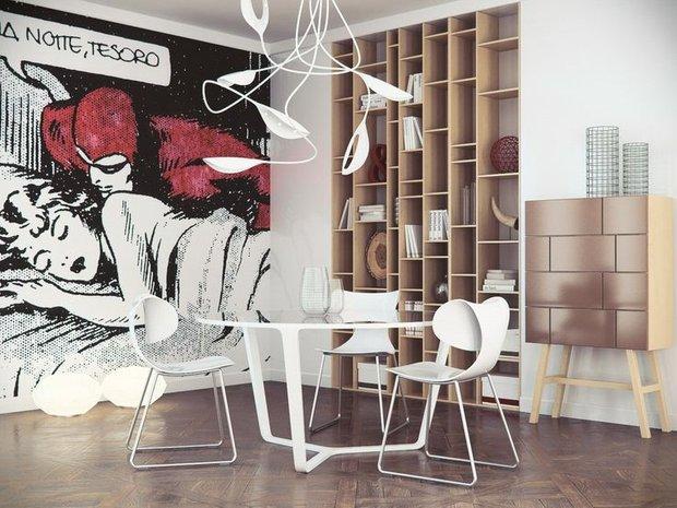 Фотография: Мебель и свет в стиле Лофт, Современный, Декор интерьера, Декор дома, Картины, Поп-арт – фото на INMYROOM