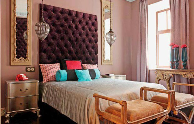 Фотография: Спальня в стиле Восточный, Эклектика, Интерьер комнат – фото на INMYROOM