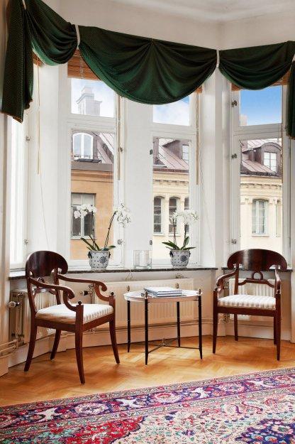 Фотография: Гостиная в стиле Прованс и Кантри, Классический, Малогабаритная квартира, Квартира, Дома и квартиры, Стокгольм – фото на INMYROOM