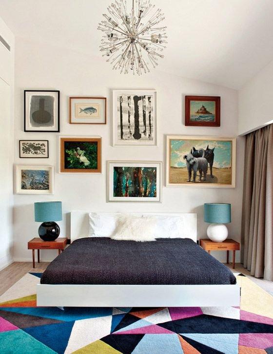 Фотография: Спальня в стиле Скандинавский, Современный, Декор интерьера, Цвет в интерьере, Индустрия, Новости, Маркет, Ковер – фото на INMYROOM