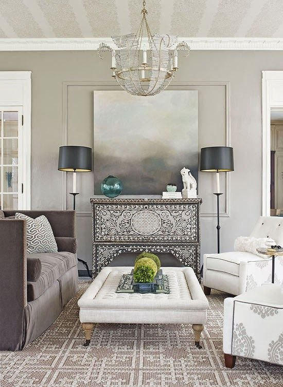 Фотография: Гостиная в стиле Современный, Восточный, Декор интерьера, Декор, марроканский стиль в интерьере, марокканский стиль – фото на INMYROOM