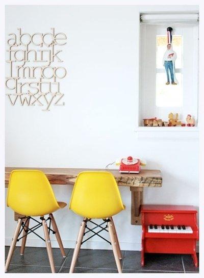 Фотография: Мебель и свет в стиле Лофт, Декор интерьера, Дизайн интерьера, Цвет в интерьере, Желтый – фото на INMYROOM