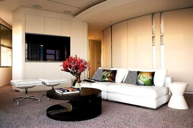 Фотография: Кухня и столовая в стиле Минимализм, Гостиная, Декор интерьера, Квартира, Дом – фото на INMYROOM