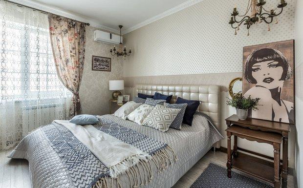Фотография:  в стиле , Спальня, Эклектика, Декор интерьера, Ольга Борисова – фото на INMYROOM